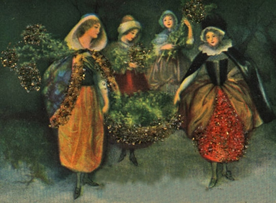 The Boar's Head Festival From Family Christmas Online™ - Medieval Christmas Tree