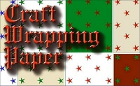 Click to see the Craft Wrapping Paper page on the Family Christmas Online site.