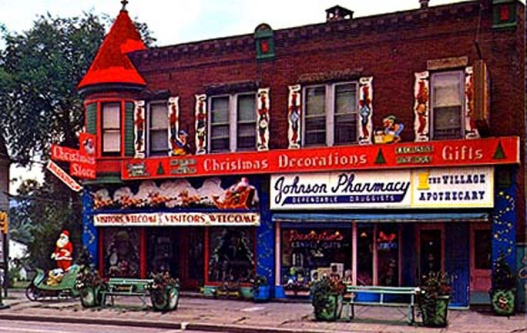 Remembering america 39 s first christmas store from family for Xmas decoration stores