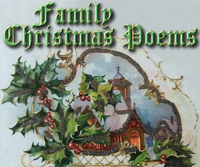 poems for family. Family Christmas Poems