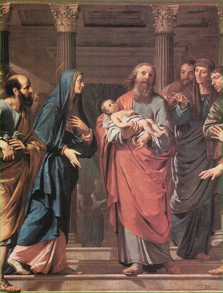 Jesus Is Presented In The Temple New American Standard
