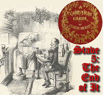 A Christmas Carol Stave 5 - Full Text